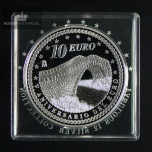 "2007 Spania 10 Euro ""5th Anniversary of the Euro - Unity """