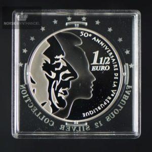"2008 Frankrike 1,5 Euro ""50 years Fifth Republic "" Fabolous 12"