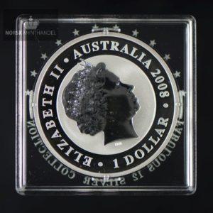 2008 Australian Silver Koala 1 oz Fabolous 12 BU