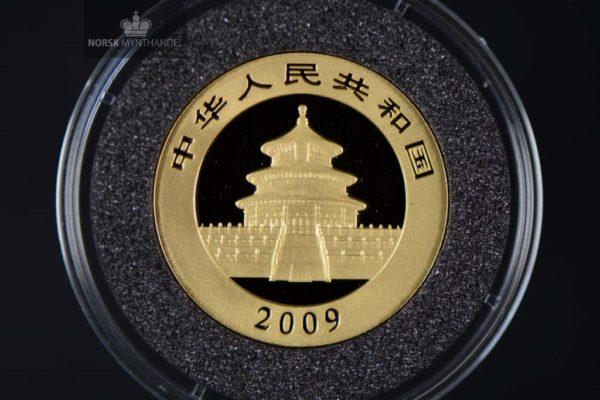 2009 Kina Panda 1/4 oz Gull