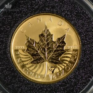 2007 Canadian Gold Maple Leaf 1/4 oz Revers Proof Privy M7