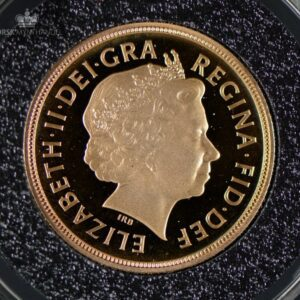2008 Storbritannia Sovereign Gullmynt Proof