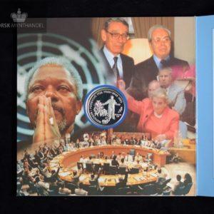 1995 50 kroner FN 50 år i Pappetui