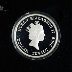 "2009 Tuvalu 1 oz Sølv ""Barbie 50th Anniversary"""