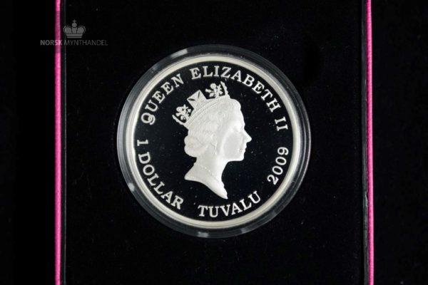 2009 Tuvalu 1 oz Sølv