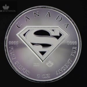 2016 Kanada 1 oz Sølv Superman™