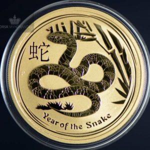 2013 Australia 1 oz Gull Lunar Year of the Snake BU