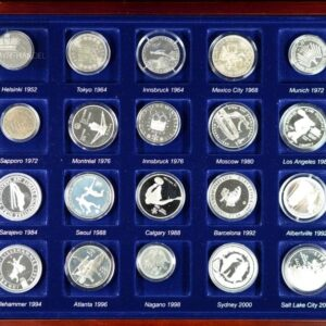 The Olympic Coin Collection 1952-2002