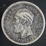 1877 1 Krone Kv 1