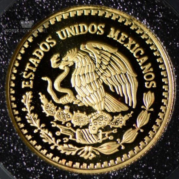 2004 Mexico Libertad 1/4 oz Gullmynt Proof