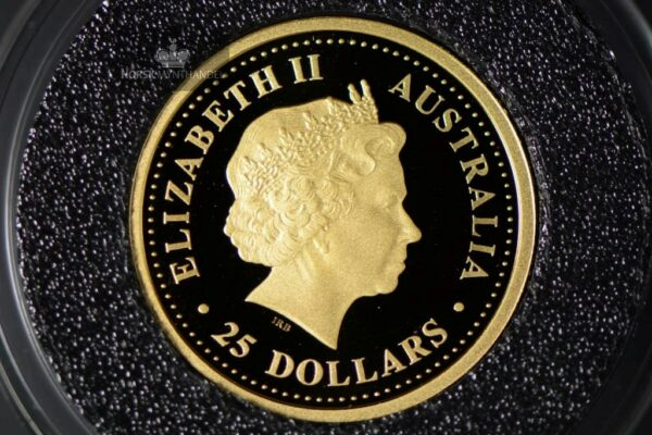 2004 Australian Gold Nugget 1/4 oz Proof