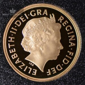 2003 Storbritannia Sovereign Gullmynt Proof