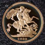 2003 Storbritannia Sovereign Gullmynt Proof