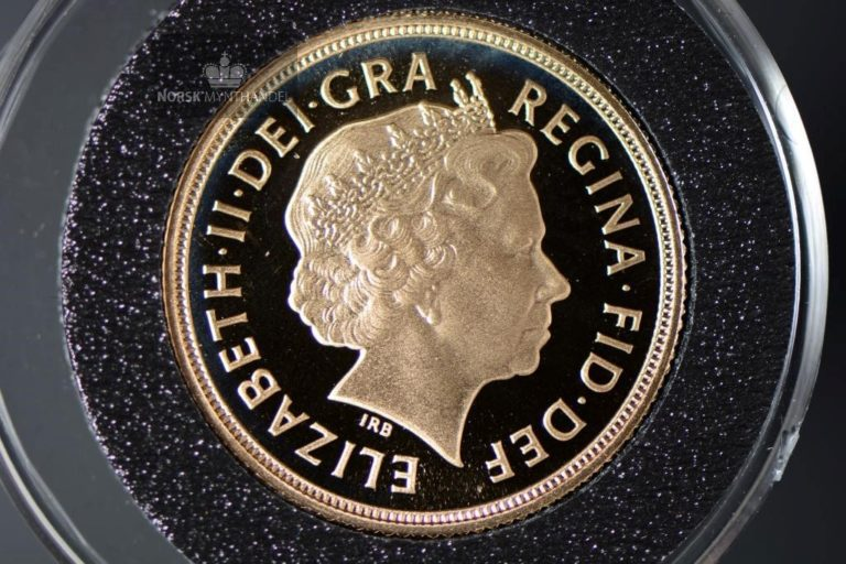 2004 Storbritannia Sovereign Gullmynt Proof