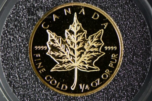 2003 Canadian Gold Maple Leaf 1/4 oz Proof