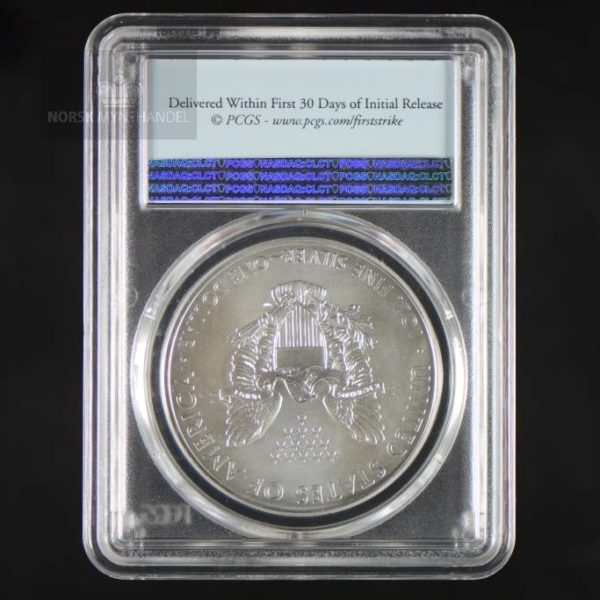 2017 Silver American Eagle 1 oz Sølv PCGS MS69
