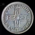 1916 25 Øre Kv 1/1+