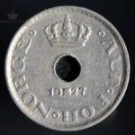 1927 10 Øre Kv 1/1+