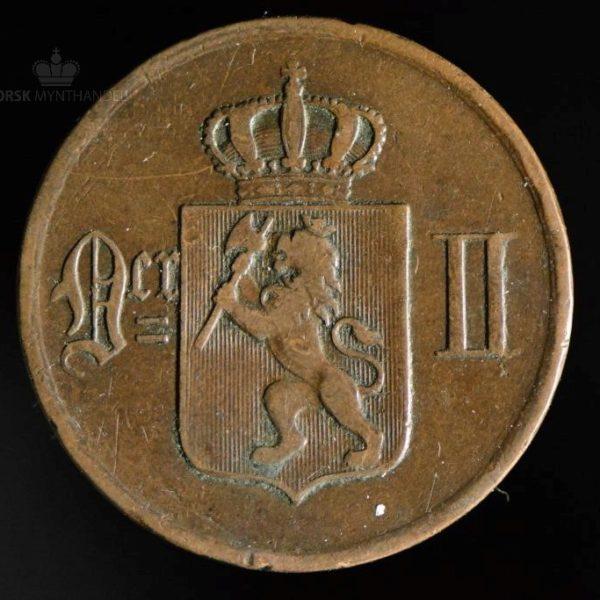 1896 5 Øre Kv 1