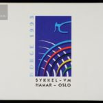 1993 Sykkel VM Komplett Sølvsett 2 x 100 Kroner Proof