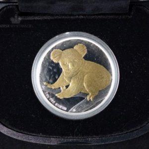 2009 Australian Silver Koala 1 oz Gilded BU