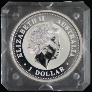 1999 Australia 1 oz Sølvmynt Year of the Rabbit BU ANM