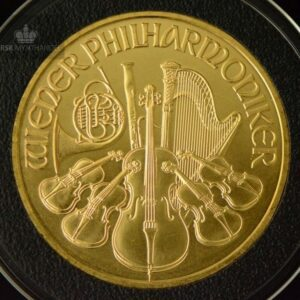 2010 Østerrike 1 oz Gullmynt Philharmoniker BU