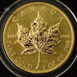 2009 Kanada 1 oz Gold Maple Leaf BU ANM