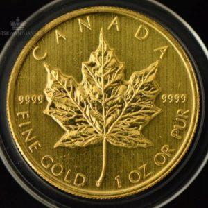 2010 Kanada 1 oz Gold Maple Leaf BU ANM