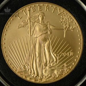 2018 USA 1 oz Gold American Eagle BU