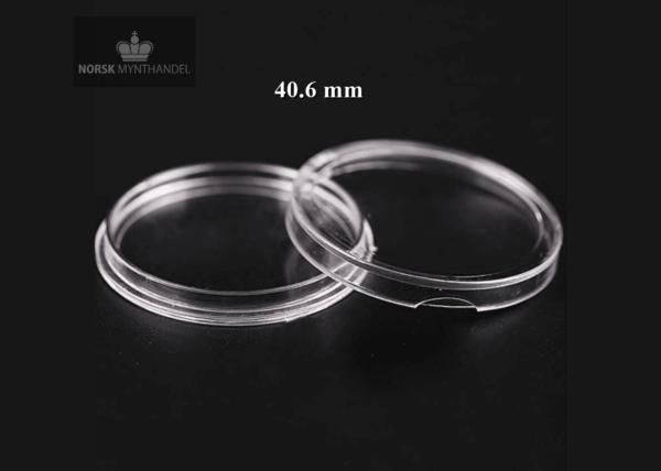 Myntkapsel 40.6 mm