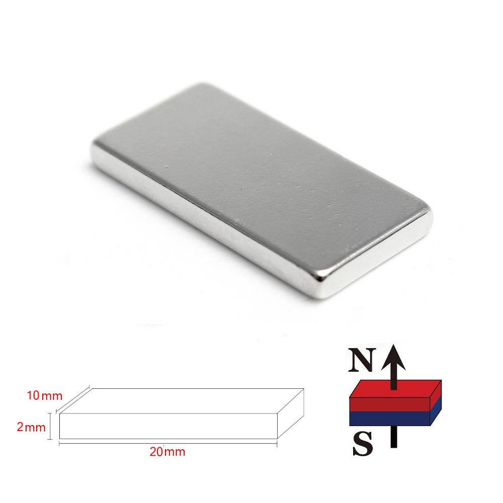 Neodymium Magnet 20 x 10 x 2 mm