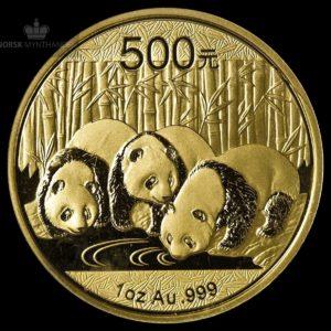 2013 Kina 1 oz Gull Panda BU