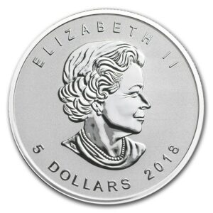 2018 Kanada 1 oz Sølv Maple Leaf Edison Light Bulb Privy BU