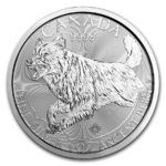 2018 Kanada 1 oz Sølvmynt Predator Serie