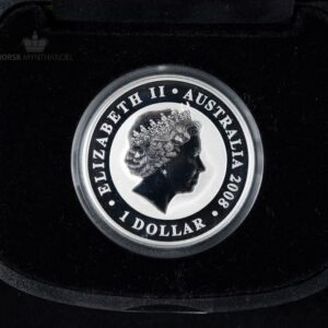 2008 Australian Silver Koala 1 oz Gilded BU