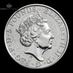 2016 Storbritannia 2 oz Sølv