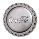 2018 Fiji 1 oz Sølvmynt Coca-Cola Bottle Cap Proof
