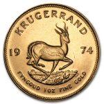 1974 Sør-Afrika 1 oz Gull Krugerrand