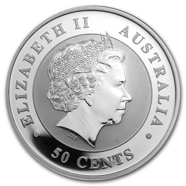 2013 Australia 1/2 oz Sølv Koala BU