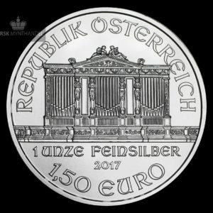 2017 Østerrike 1 oz Sølv Philharmoniker BU