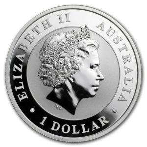 2018 Australia 1 oz Sølv Koala BU
