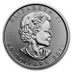 2018 Kanada 1 oz Platinum Maple Leaf BU