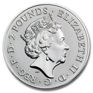 "2018 Storbritannia 1 oz Sølv ""Landmarks of Britain-Trafalgar"" BU"