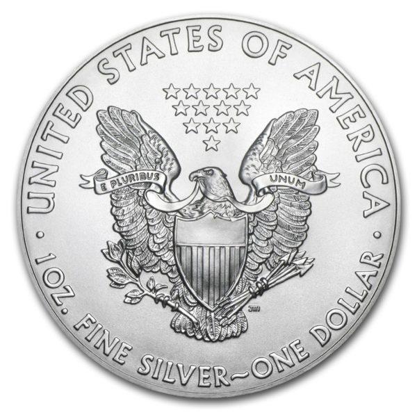 2018 Silver American Eagle 1 oz Sølv PCGS MS69