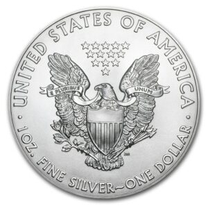 "2018 Silver American Eagle 1 oz Sølv NGC MS69 ""ES-Green"""
