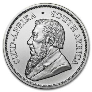 """2018 Sør-Afrika 1 oz Sølvmynt """"Krugerrand"""" BU ANM"""