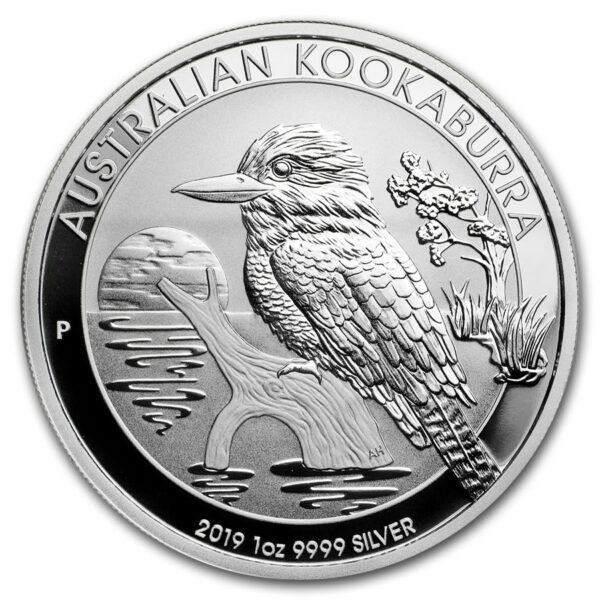 2019 Australia 1 oz Sølv Kookaburra BU
