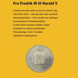 """Handlerkatalog 2019 """"Norske Mynter 1649-2019"""""""