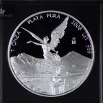 2008 Mexico 1 oz Silver Libertad Proof